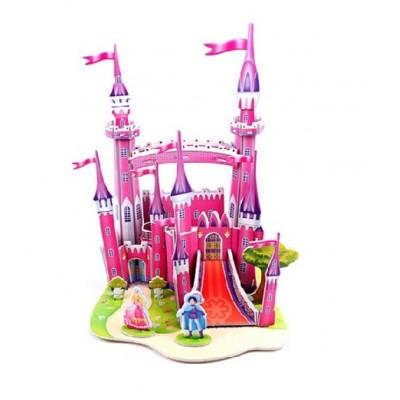 3D puzzle – Rúžový zámok
