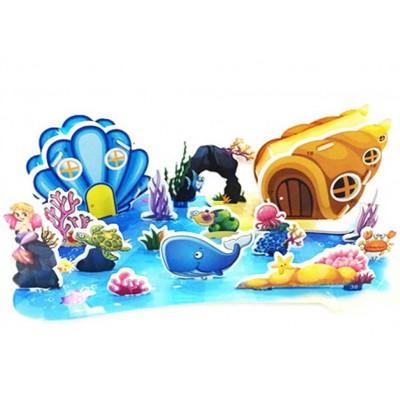 3D puzzle – Vodný svet