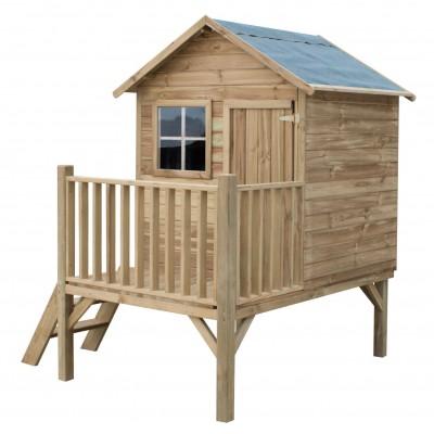 Drevený záhradný domček pre deti TOM