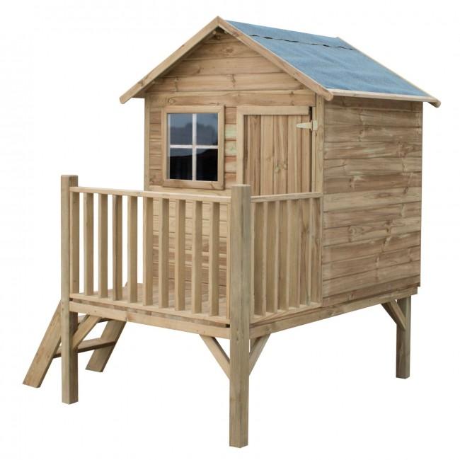 290bdf287625e Drevený záhradný domček pre deti TOM | SkvelyDarcek.sk