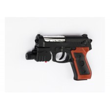 Pištoľ THOMAS s laserovým zameriavaním a zásobníkom