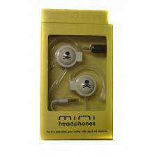 Slúchadlá Mini headphones White