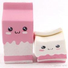 Anti-stresová hračka: Mliečko