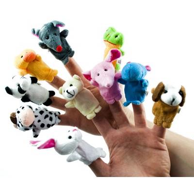 Bábky na prst - zvieratká