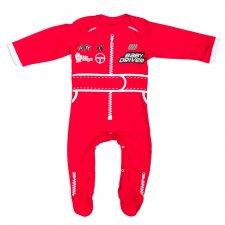 Baby Driver – detské body, červené, veľkosť: 86
