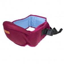 Bedrový nosič pre deti 2v1 - bordový