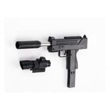 Puška BEN s laserovým zameriavaním