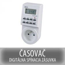 ČASOVAČ - DIGITÁLNA SPÍNACIA ZÁSUVKA