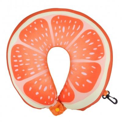 Cestovný vankúšik na krk – pomaranč