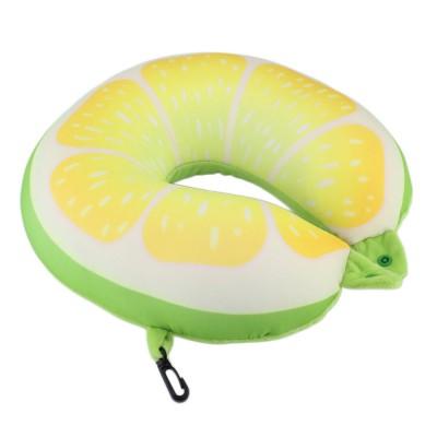 Cestovný vankúšik na krk – citrón