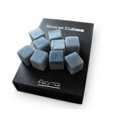Chladiace kamenné kocky do nápojov