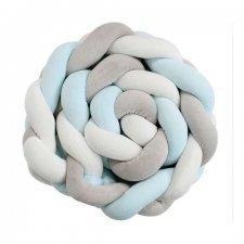 Chránič pre detskú postieľku - 2m - modrý