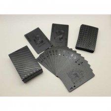Čierne plastové karty