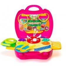 Cukrárenský kufrík pre deti