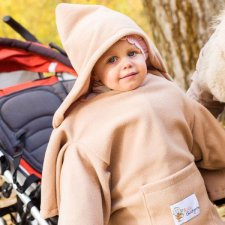 Deka s rukávmi Baby Wrapi – Toffi