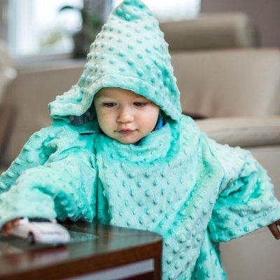 Deka s rukávmi Baby Wrapi – tyrkysová