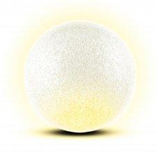 Dekorácia, EVA guľa, 2 teplej bielej LED, Ø15 cm