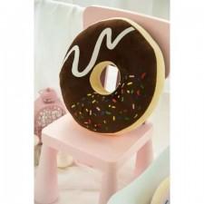 Dekoratívny vankúš – Čokoládový donut