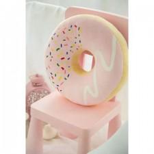 Dekoratívny vankúš – Ružový donut