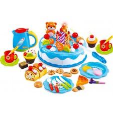 Detská kuchynka – Narodeniny – Rúžová - 80 častí