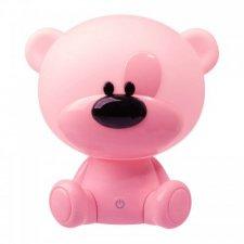 Detská nočná lampa LED MACKO Polux, 2,5W - ružová