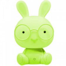 Detská nočná lampa LED ZAJAČIK Polux, 2,5W - zelená