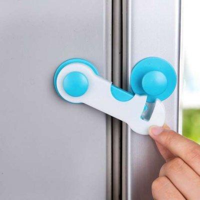 Detská poistka na dvere - modrá