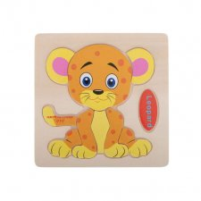 Detské puzzle: Leopard