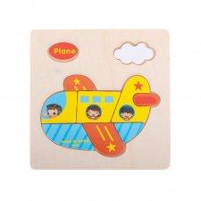 Detské puzzle: Lietadlo