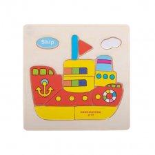 Detské puzzle: Loď