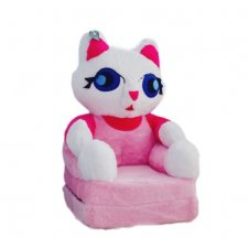Detské rozkladacie kresielko 2v1 - Mačička