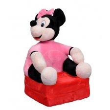 Detské rozkladacie kresielko 2v1 - Minnie Smile