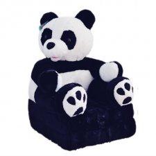 Detské rozkladacie kresielko 2v1 - Panda