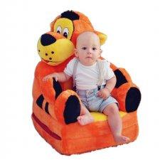 Detské rozkladacie kresielko 2v1 - Tiger