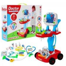 Detský lekársky vozík - Sada 17 ks