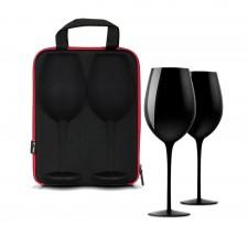 diVinto púzdro s pohármi na víno