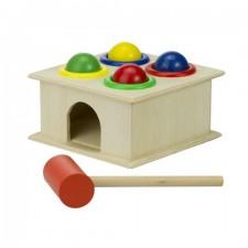 Drevená hra Zatĺkačka + kladivko