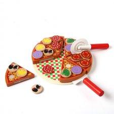 Drevená Pizza na hranie