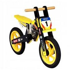 Drevené odrážadlo - závodná motorka