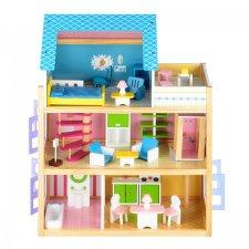 Drevený domček pre bábiky - 74cm