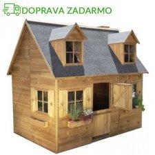 Drevený záhradný domček pre deti MARIA