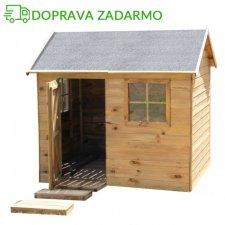 Drevený záhradný domček pre deti VICTOR