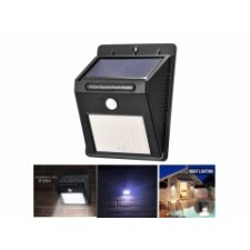 Externé solárne svetlo 20 LED + snímač pohybu