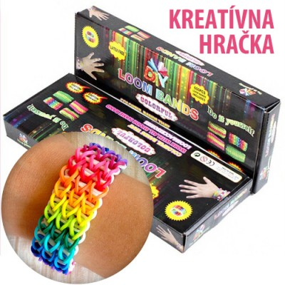 Sada Loom Bands gumičiek Optimal