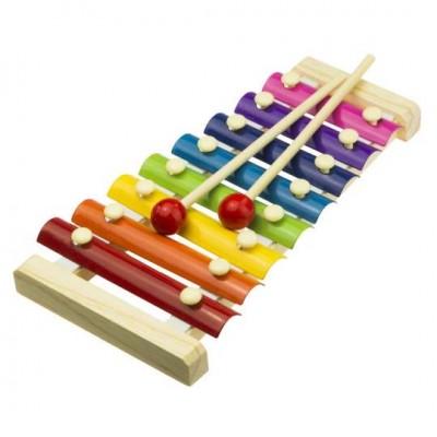 Farebný xylofón pre deti