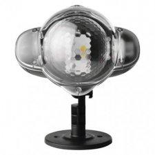 LED dekoratívny projektor - hviezdičky, vonkajší