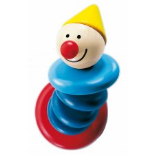 Drevený ohybný klaun Piro