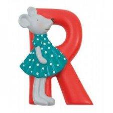Písmeno R červené
