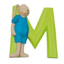 Písmeno M zelené