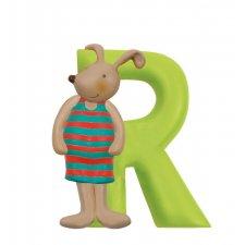 Písmeno R zelené